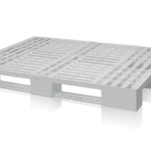 PALLET IN PLASTICA INDPAL 1.200X800X150 CON TRAVERSE