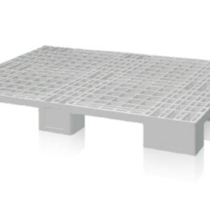 PALLET IN PLASTICA INDPAL 1.200X800X150 CON PIEDI
